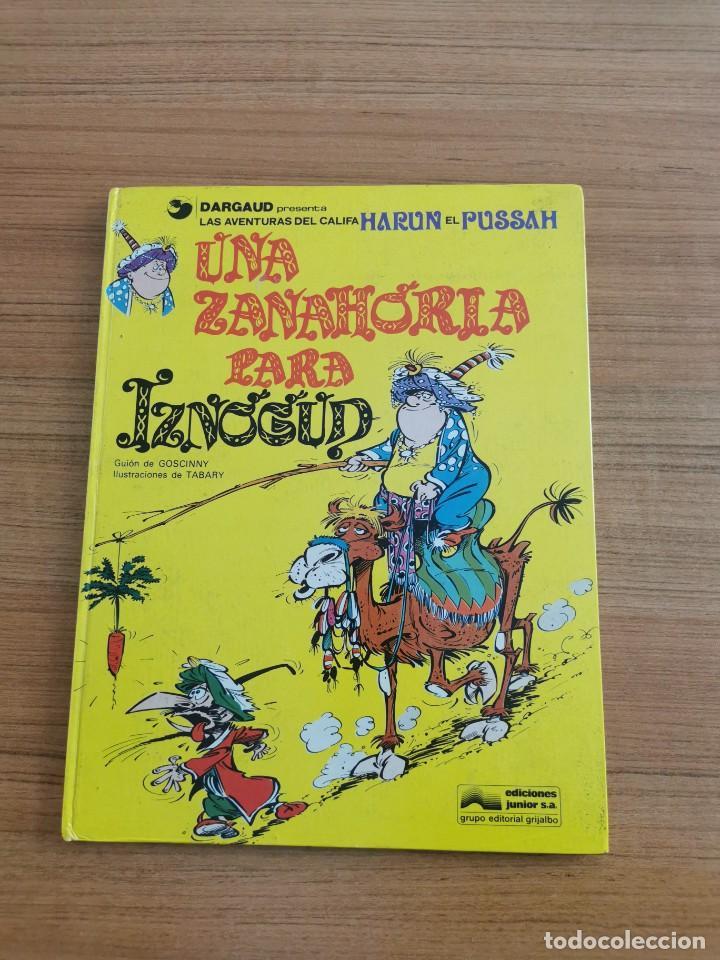 LAS AVENTURAS DEL CALIFA - HARUN EL PUSSAH- UNA ZANAHORIA PARA IZNOGUD - N. 1 (Tebeos y Comics - Grijalbo - Iznogoud)