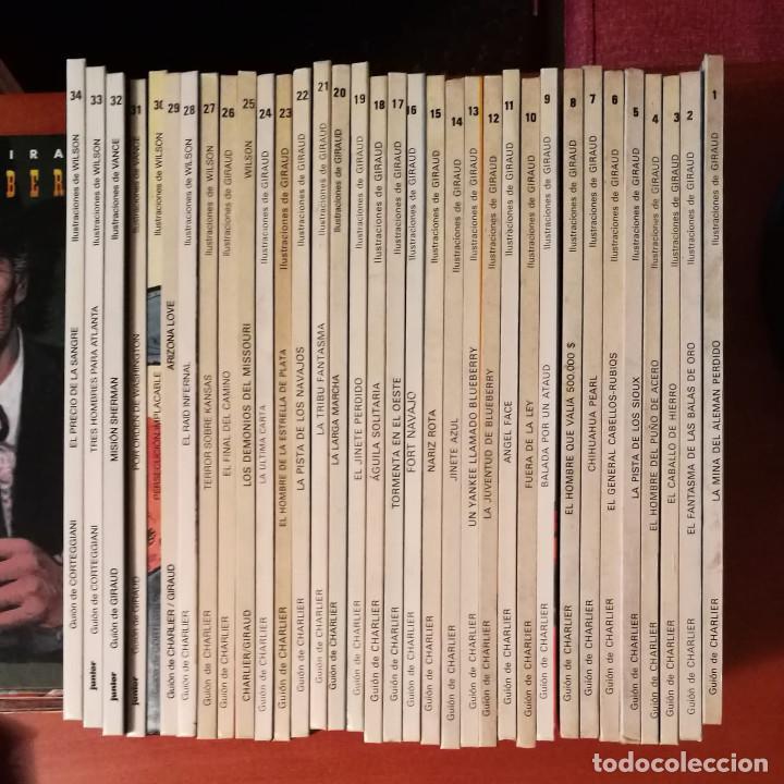 Cómics: BLUEBERRY GRUPO EDITORIAL GRIJALBO : EDICIONES JUNIOR NORMA EDITORIAL Lote de 49 Nº. - Foto 2 - 278444443
