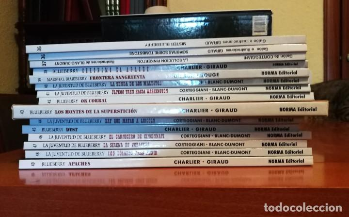 Cómics: BLUEBERRY GRUPO EDITORIAL GRIJALBO : EDICIONES JUNIOR NORMA EDITORIAL Lote de 49 Nº. - Foto 3 - 278444443