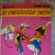 Comics : LUCKY LUKE Nº 1 EL EMPERADOR SMITH GRIJALBO DARGAUD. Lote 283129288