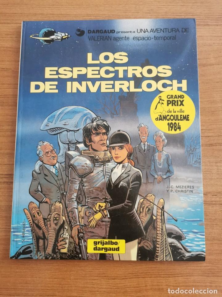 UNA AVENTURA DE VALERIAN AGENTE ESPACIO - TEMPORAL - LOS ESPECTROS DE INVERLOCH - N. 11 (Tebeos y Comics - Grijalbo - Valerian)