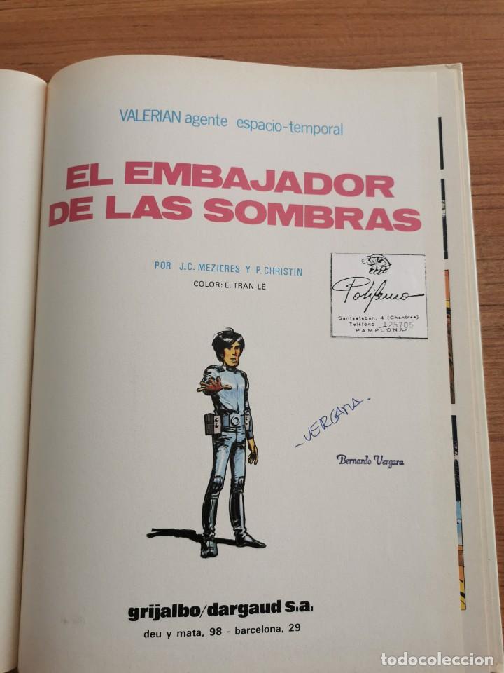 Cómics: UNA AVENTURA DE VALERIAN AGENTE ESPACIO - TEMPORAL - EL EMBAJADOR DE LAS SOMBRAS - N. 5 - Foto 3 - 283182868