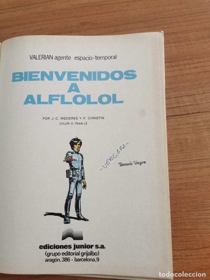 Cómics: UNA AVENTURA DE VALERIAN AGENTE ESPACIO - TEMPORAL - BIENVENIDOS A ALFLOLOL - N. 3 - Foto 3 - 283183238