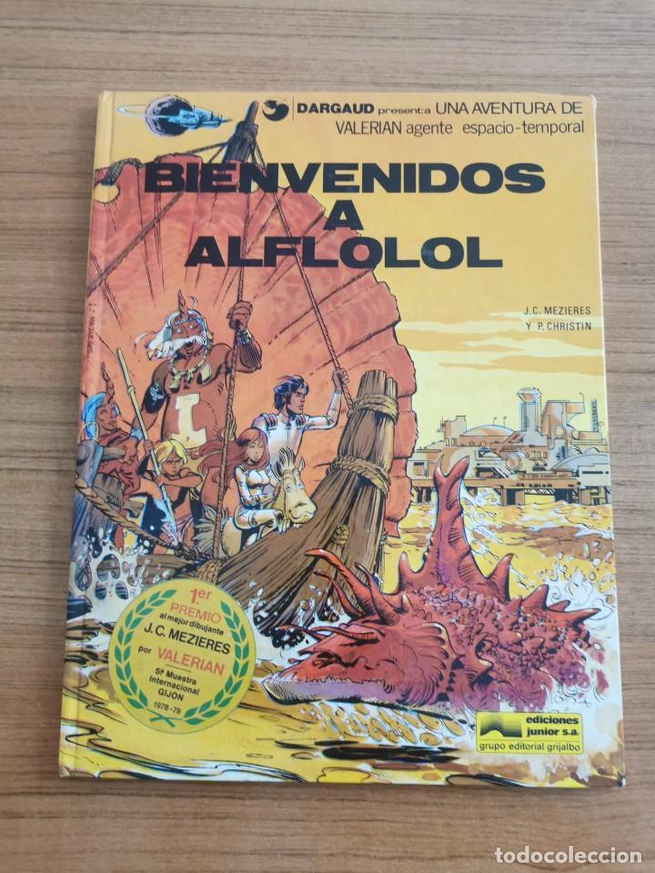 UNA AVENTURA DE VALERIAN AGENTE ESPACIO - TEMPORAL - BIENVENIDOS A ALFLOLOL - N. 3 (Tebeos y Comics - Grijalbo - Valerian)