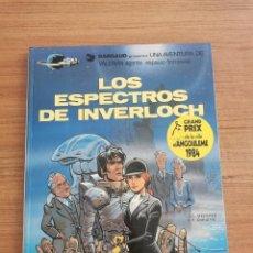 Cómics: UNA AVENTURA DE VALERIAN AGENTE ESPACIO - TEMPORAL - LOS ESPECTROS DE INVERLOCH - N. 11. Lote 283183743