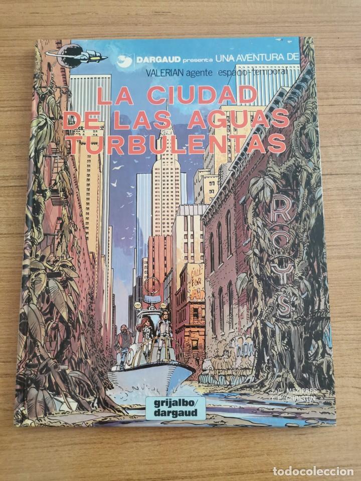 UNA AVENTURA DE VALERIAN AGENTE ESPACIO - TEMPORAL - LA CIUDAD DE LAS AGUAS TURBULENTAS - N. 8 (Tebeos y Comics - Grijalbo - Valerian)