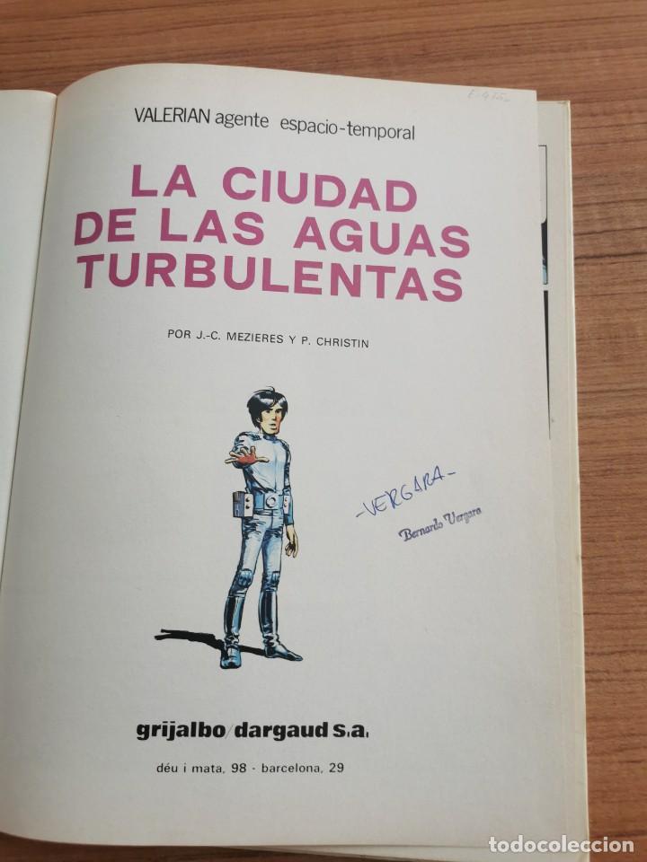 Cómics: UNA AVENTURA DE VALERIAN AGENTE ESPACIO - TEMPORAL - LA CIUDAD DE LAS AGUAS TURBULENTAS - N. 8 - Foto 3 - 283183943