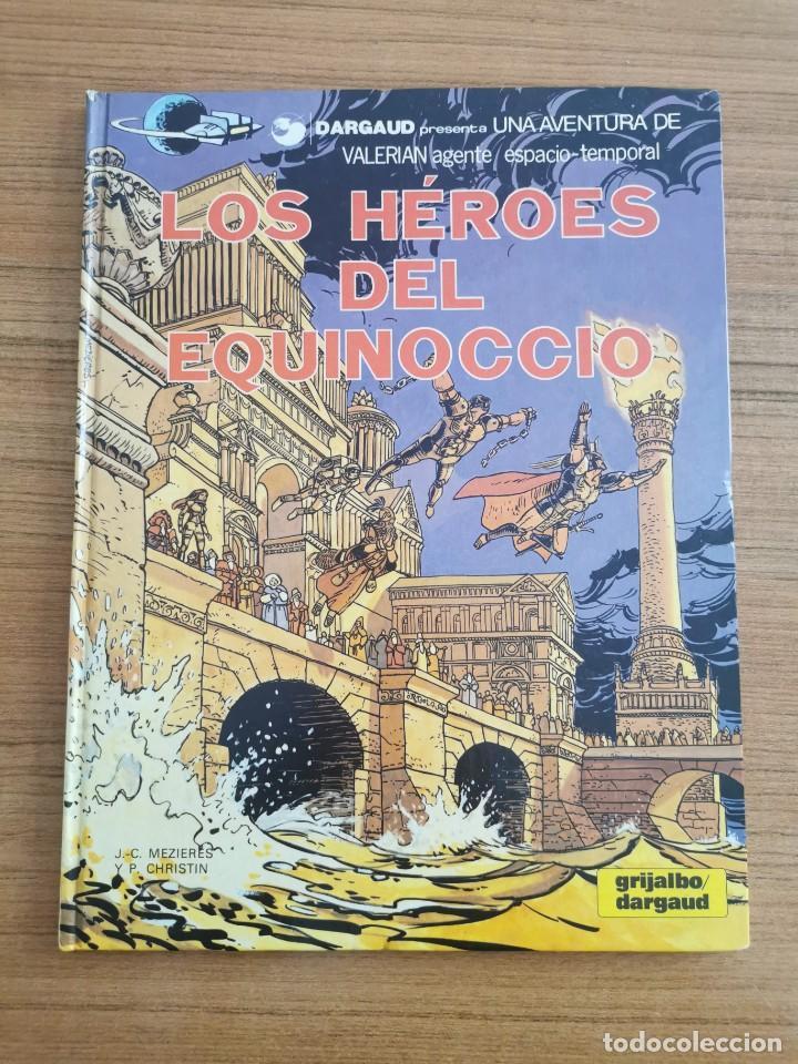 UNA AVENTURA DE VALERIAN AGENTE ESPACIO - TEMPORAL - LOS HEROES DEL EQUINOCCIO - N. 7 (Tebeos y Comics - Grijalbo - Valerian)