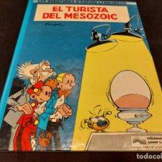 Cómics: LES AVENTURES D'ESPIRU I FANTÀSTIC / EL TURISTA DEL MESOZOIC / EDICIONES JUNIOR-1983 / TAPA DURA.. Lote 283365688