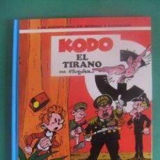 Cómics: LAS AVENTURAS DE SPIROU Y FANTASIO Nº 40 KODO EL TIRANO GRIJALBO. Lote 283688273