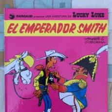 Comics: LUCKY LUKE - EL EMPERADOR SMITH - GRIJALBO DARGAUD NUMERO 1. Lote 283891368
