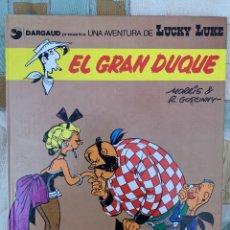 Comics: LUCKY LUKE - EL GRAN DUQUE - GRIJALBO DARGAUD NUMERO 3. Lote 283891778