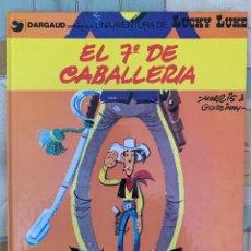 Comics: LUCKY LUKE - EL 7º DE CABALLERIA - GRIJALBO DARGAUD NUMERO 7. Lote 283892013