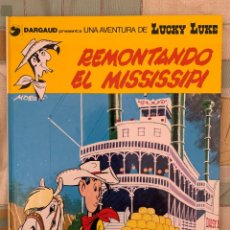 Cómics: LUCKY LUKE - REMONTANDO EL MISSISSIPPI - GRIJALBO DARGAUD NUMERO 9. Lote 283892088