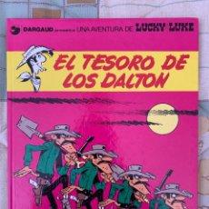 Cómics: LUCKY LUKE - EL TESORO DE LOS DALTON - GRIJALBO DARGAUD NUMERO 19. Lote 283892593