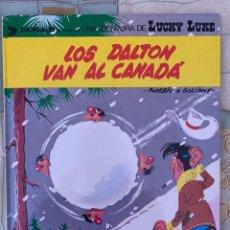 Cómics: LUCKY LUKE - LOS DALTON VAN AL CANADA - GRIJALBO DARGAUD NUMERO 22. Lote 283893048
