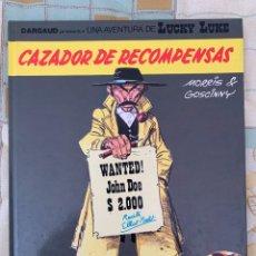 Comics : LUCKY LUKE - CAZADOR DE RECOMPENSAS - GRIJALBO DARGAUD NUMERO 42. Lote 283894183