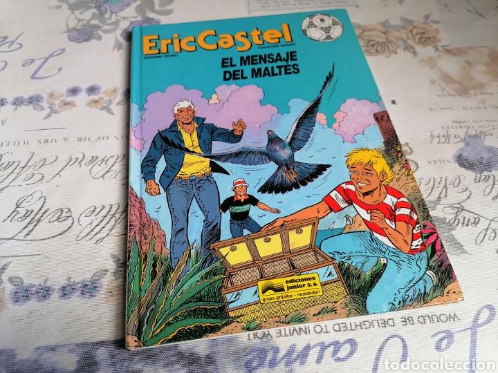 Cómics: ERIC CASTEL N° 15 EL MENSAJE DEL MALTÉS ED JUNIOR - Foto 2 - 284135518