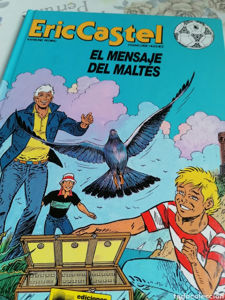 ERIC CASTEL N° 15 EL MENSAJE DEL MALTÉS ED JUNIOR (Tebeos y Comics - Grijalbo - Eric Castel)