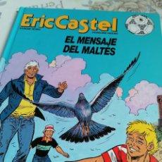 Cómics: ERIC CASTEL N° 15 EL MENSAJE DEL MALTÉS ED JUNIOR. Lote 284135518