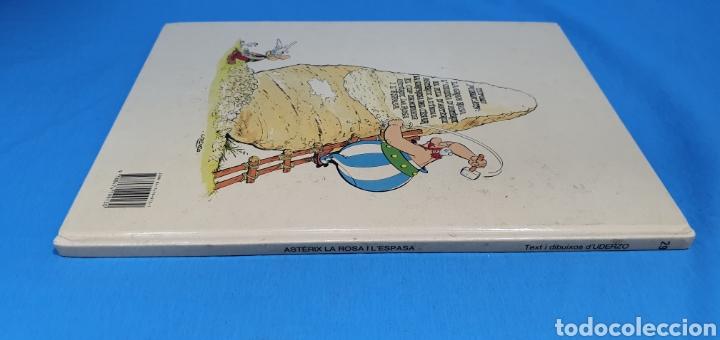 Cómics: ASTERIX LA ROSA I L ESPASA . GRIJALBO 1991 - Foto 6 - 284199308