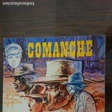 Cómics: COMANCHE - LOS LOBOS DE WYOMING - Nº 16 - JET BRUGUERA 1984. Lote 284244948