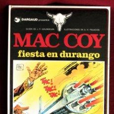 Comics: MAC COY FIESTA EN DURANGO Nº 10 GRIJALBO 1982 IMPECABLE DE TIENDA. VER DESCRIPCIÓN Y FOTOS. Lote 284424618