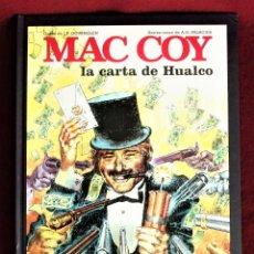 Comics: MAC COY LA CARTA DE HUALCO Nº 19 GRIJALBO 1995 IMPECABLE, DE TIENDA. VER DESCRIPCIÓN. Lote 284426423