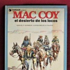 Comics: MAC COY EL DESIERTO DE LOS LOCOS Nº 14 GRIJALBO 1988 MUY BUENO. VER DESCRIPCIÓN Y FOTOS. Lote 284429938