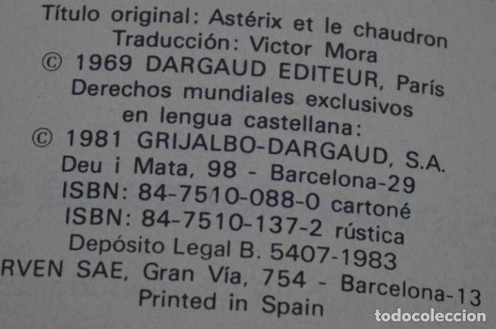 Cómics: TOMO 4 - LAS AVENTURAS DE ASTERIX - UDERZO / GOSCINNY - GRIJALBO - DARGAUD 1983 - Foto 5 - 284720233