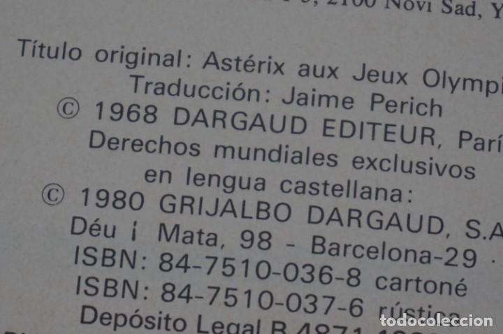 Cómics: TOMO 2 - LAS AVENTURAS DE ASTERIX - UDERZO / GOSCINNY - GRIJALBO - DARGAUD 1983 - Foto 5 - 284720853