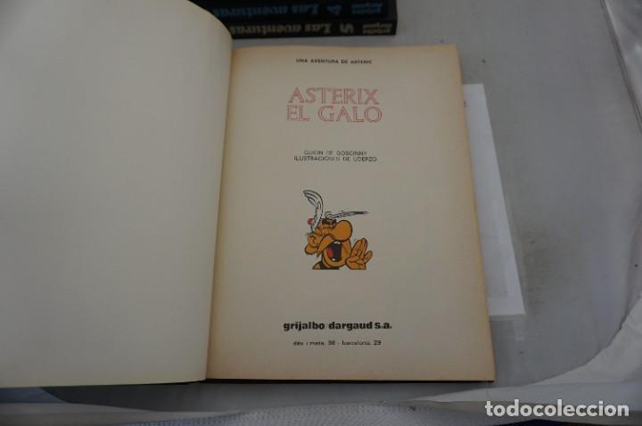 Cómics: TOMO 1 - LAS AVENTURAS DE ASTERIX - UDERZO / GOSCINNY - GRIJALBO - DARGAUD 1983 - Foto 4 - 284720933