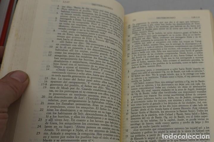 Cómics: 2F/ NUEVA BIBLIA ESPAÑOLA - L. ALONSO SCHOKEL, JUAN MATEOS / CRISTIANDAD - Foto 7 - 284721243