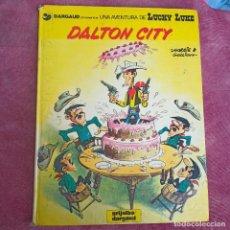 Cómics: LUCKY LUKE - Nº 29 - DALTON CITY - MORRIS - GOSCINNY - GRIJALBO - AÑO 1985. Lote 284741213
