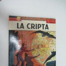 Cómics: LA CRIPTA. LEFRANC Nº 9. CÓMIC DE J. MARTIN & G. CHAILLET. GRIJALBO. Lote 285114883