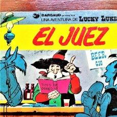 Comics: LUCKY LUKE .EL JUEZ.. Lote 285243988