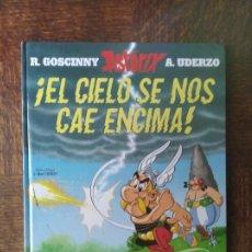 Fumetti: ASTERIX. ¡EL CIELO SE NOS CAE ENCIMA! - ALBUM TAPA DURA - ED. SALVAT. Lote 285362078