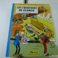 Cómics: SPIROU Y FANTASIO Nº 45 - LOS CREADORES DE SILENCIO - NIC Y CAUVIN - JUNIOR 1996 - N 8. Lote 285468393