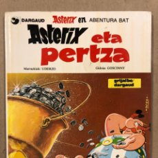 Cómics: ASTERIX ETA PERTZA. UDERZO - GOSCINNY. GRIJALBO ELKAR 1987. EUSKERA. Lote 285478698