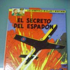 Cómics: BLAKE Y MORTIMER 9. EL SECRETO DEL ESPADÓN. Lote 285802963