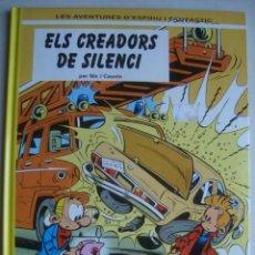 Cómics: LES AVENTURES D'ESPIRÚ I FANTÀSTIC. ELS CREADORS DEL SILENCI - NIC I CAUVIN (1996). CATALÀ.. Lote 285977193
