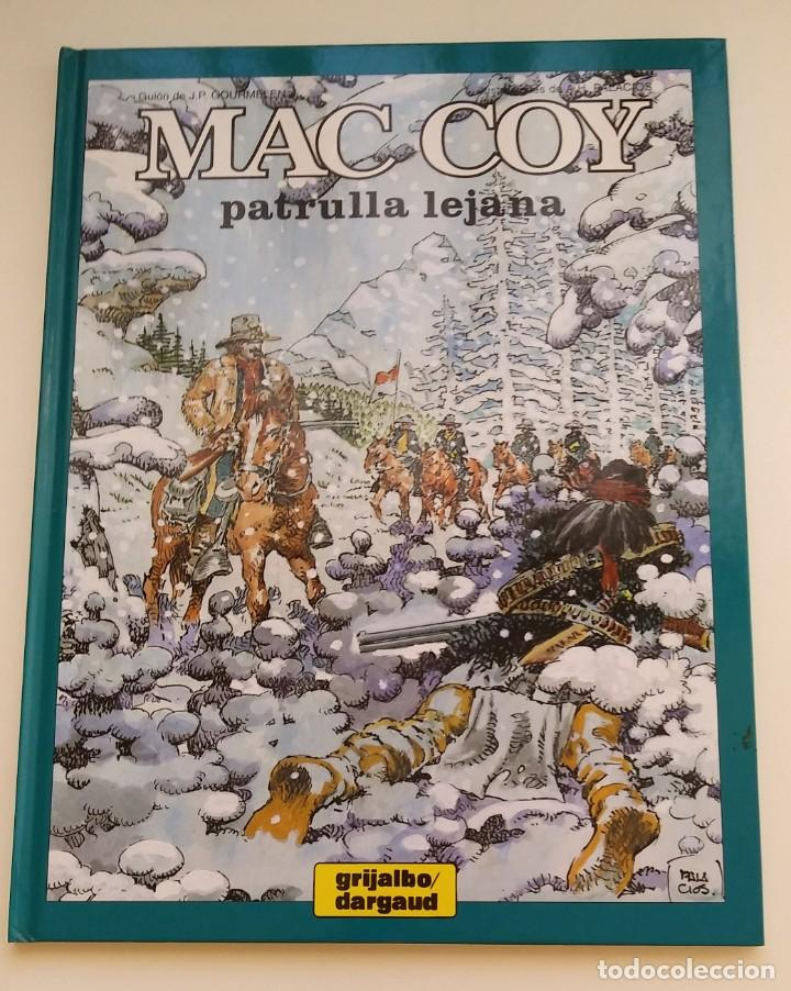 MAC COY Nº 20. PATRULLA LEJANA. EDITORIAL GRIJALBO/DARGAUD. TAPA DURA. 1997. (Tebeos y Comics - Grijalbo - Mac Coy)