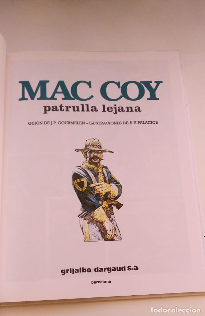 Cómics: MAC COY Nº 20. PATRULLA LEJANA. EDITORIAL GRIJALBO/DARGAUD. TAPA DURA. 1997. - Foto 3 - 286515568