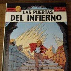 Cómics: LEFRANC Nº 5. LAS PUERTAS DEL INFIERNO. J. MARTIN Y G. CHAILLET. EDICIONES JUNIOR. GRIJALBO. Lote 286532053