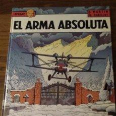 Cómics: LEFRANC Nº 8. EL ARMA ABSOLUTA. J. MARTIN Y G. CHAILLET. EDICIONES JUNIOR. GRIJALBO. Lote 286532628