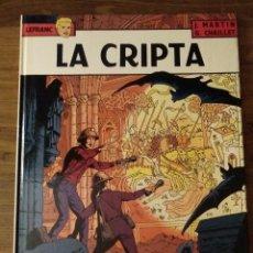 Cómics: LEFRANC Nº 9. LA CRIPTA. J. MARTIN Y G. CHAILLET. EDICIONES JUNIOR. GRIJALBO. Lote 286533153
