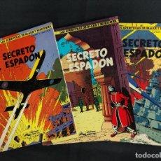 Cómics: LAS AVENTURAS DE BLAKE Y MORTIMER - EL SECRETO DEL ESPADON COMPLETA 3 TOMOS - GRIJALBO -. Lote 286783798