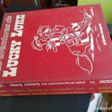 Comics: COLECCIÓN CASI COMPLETA TEBEOS LAS AVENTURAS DE LUCHY LUKE TOMOS 1-2-3 MORRIS GRIJALBO DARGAUD 1982. Lote 286852563
