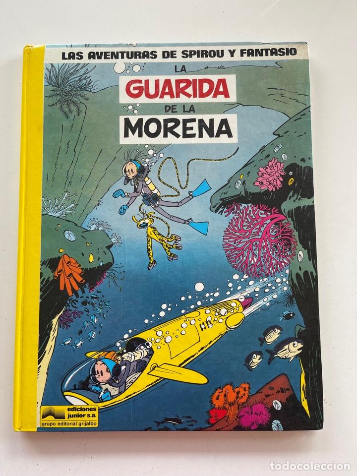 LAS AVENTURAS DE SPIROU Y FANTASIO Nº7 EDICIONES JÚNIOR (Tebeos y Comics - Grijalbo - Spirou)