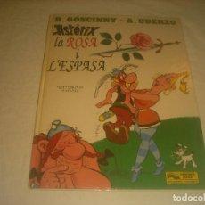Cómics: ASTERIX, LA ROSA I L'ESPASA , 1991. EN CATALAN.. Lote 287121248